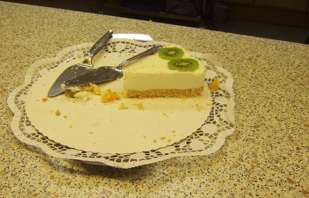 ... dennoch reichte der Kuchen