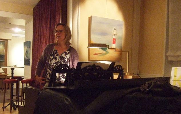Die Chorprobe mit Sigrid Hartmann ist immer ein Highlight