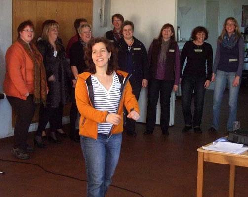 Das war für alle Sängerinnen und Sänger ein toller Tag mit wertvollen Erfahrungen.