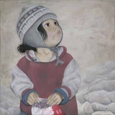 Urpi im Salz (70x70)