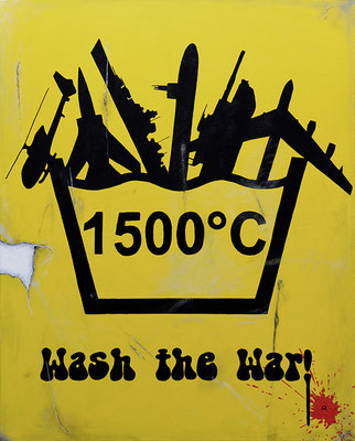 Wash The War! (100x80)