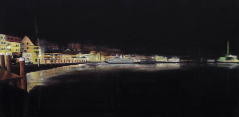 An der Hafenspitze (100x50)