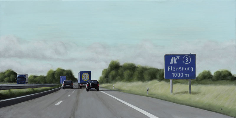 Abfahrt Flensburg (100x50)