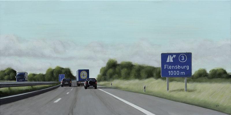 Abfahrt Flensburg (50x100)