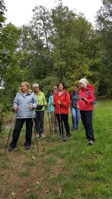 Bewusstes Hören - Gesundheitswanderung Wilhemsteg 25.09.2019