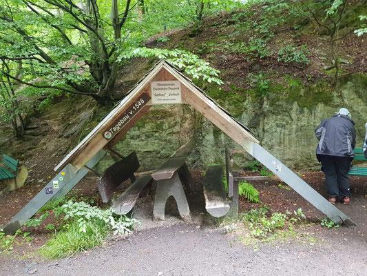 Grube Assberg Schiefer-Tagebau seit mindestens 1548