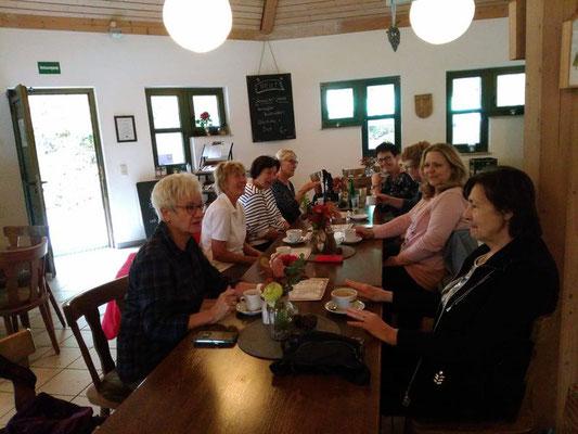 Stärkung und Seele baumeln lassen im Cafe Wilhelmsteg 25.09.2019