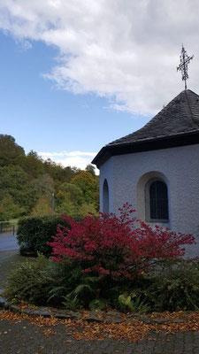 Gesundheitswanderung an der Abtei Marienstatt vom 02.10.19