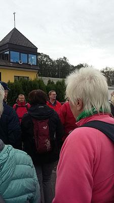 Die Brüder Sven und Frank Wolff kurz vor der geführten Wanderung rund um Katzwinkel / Westerwald