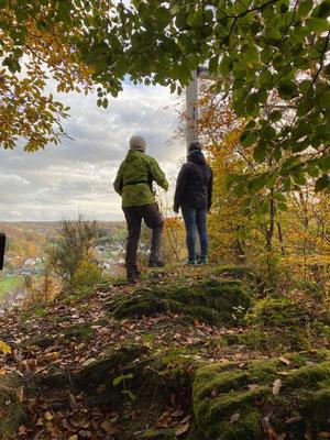 Gesundheitswanderung im Westerwald zum Kappanöll oberhalb von Limbach