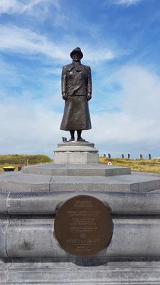 Statue von Königin Wilhelmina