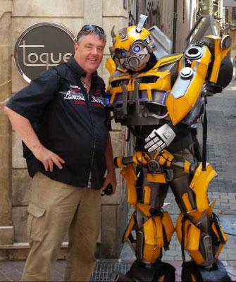 Transformer-Invasion in Palma :-)