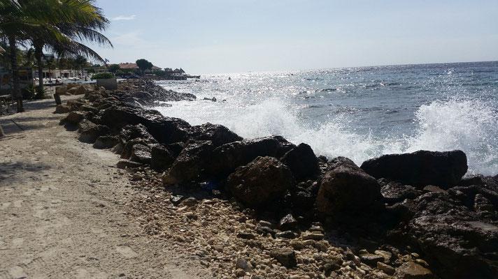 Küste bei Playa Jan Thiel