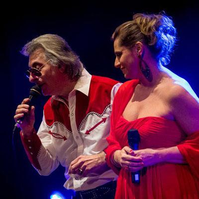 Beppe Lentini e Barbara Errico