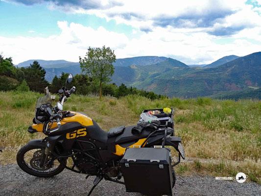Pausenstopp auf dem Coll de Canto