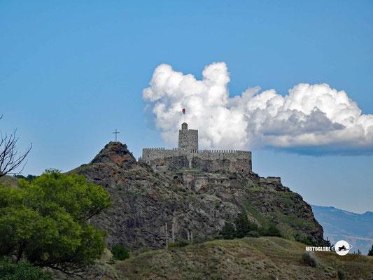 Die gut erhaltene Burg von Achalziche