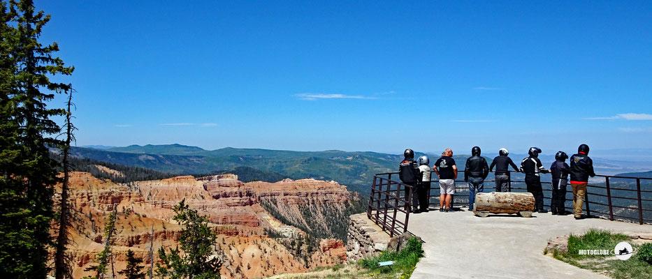Der Chessman Ridge Overlook liegt auf 3'200 Meter