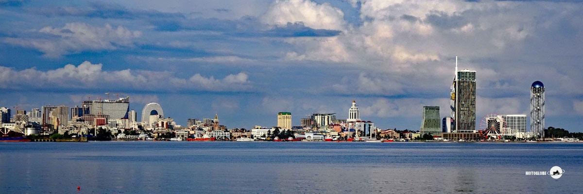 Die Skyline von Batumi