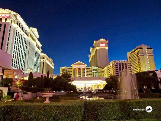 Caesars Palace, mit 6'500 Zimmern das grösste Hotel der Welt