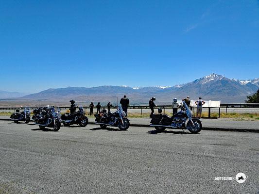 Das Hochgebirge Sierra Nevada