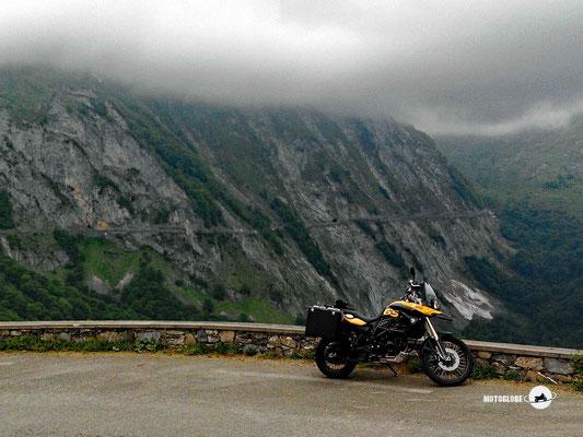 Weiter geht es zur letzten Passhöhe von heute dem Col du Soulor