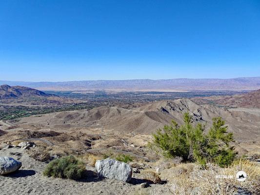 Die Ortschaft Palm Spring in der Wüste Sonora