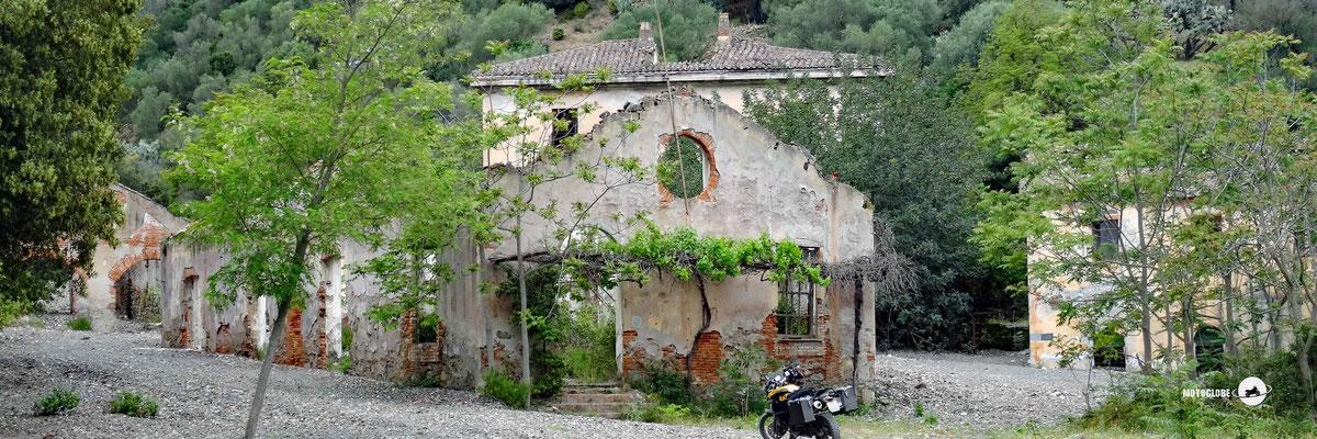 Minen Ruinen von Monte Narba