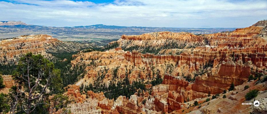 Unbeschreibliche Naturschönheit, der Bryce Canyon