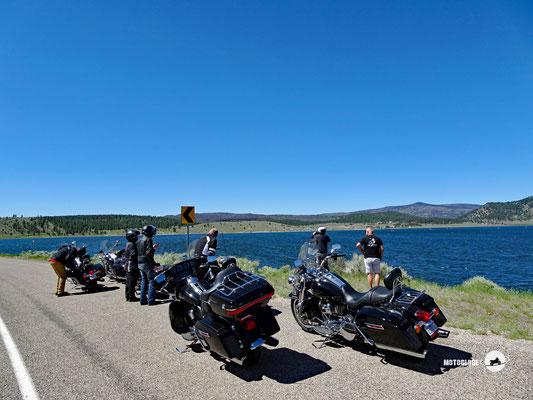 Kurzer Stopp am Panguitch Lake