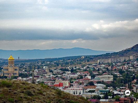 Ankuft in Tiflis