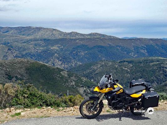 Unterwegs in den Bergen von Sardinien