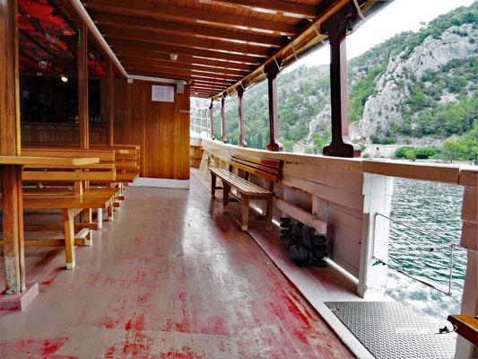 Per Boot von Skadar in den Krka Nationalpark