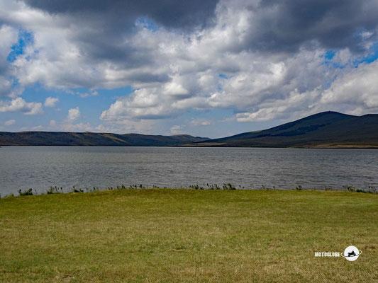 Der auf einem 2'000 Meter hohen Plateau liegende Parawani See