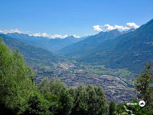 Aosta - Motoglobe Motorradtest Honda CRF300Rally