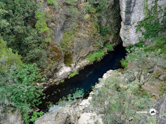 Die wichtigste Quelle Sardinien, die Sorgente Su Gologone