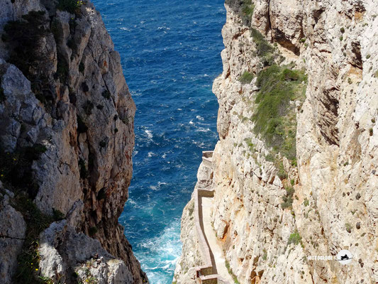 Nur für Mutige, der Weg zur Grotta di Nettuna