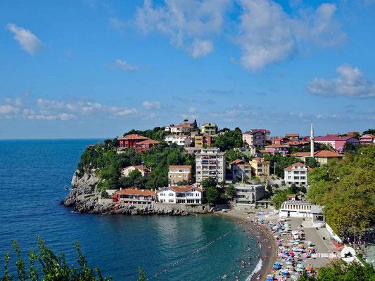 An der Schwarzmeerküste hat es fast nur einheimische Touristen