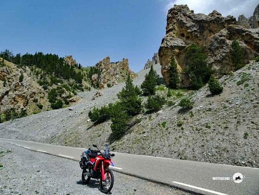 Col D'Izoard - Motoglobe Motorradtest Honda CRF300Rally