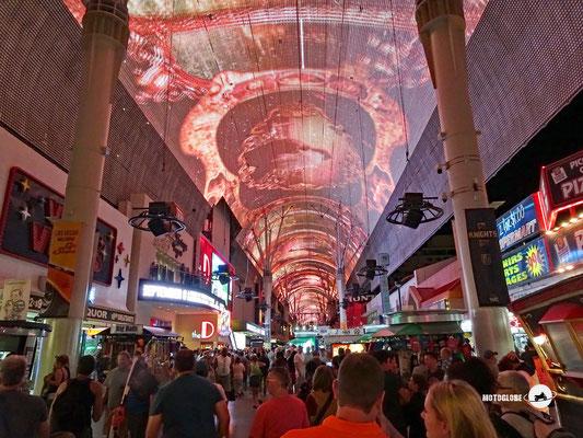 Freemont Street in old down town Las Vegas