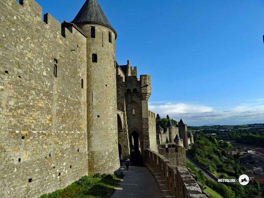Die Burgmauern von Carcassone