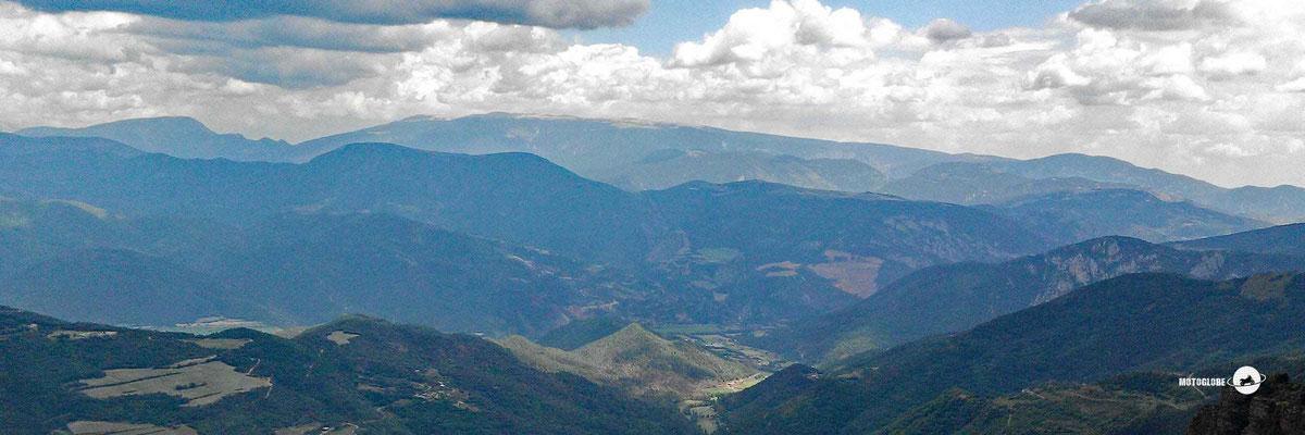 Das Panorama vom Coll de Canto