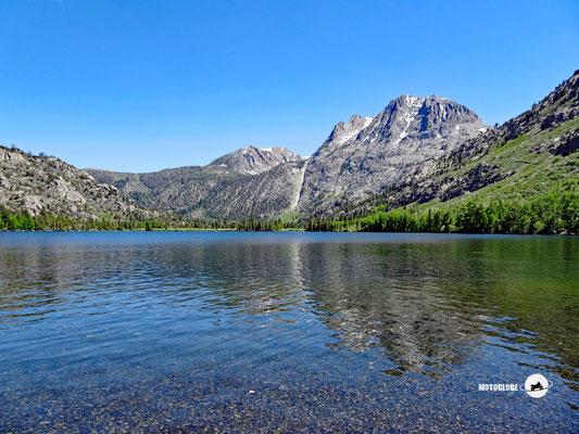 Der idyllisch gelegene Lake Silver