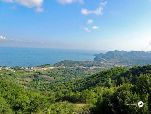 Morgendstimmung an der türkischen Schwarzmeerküste