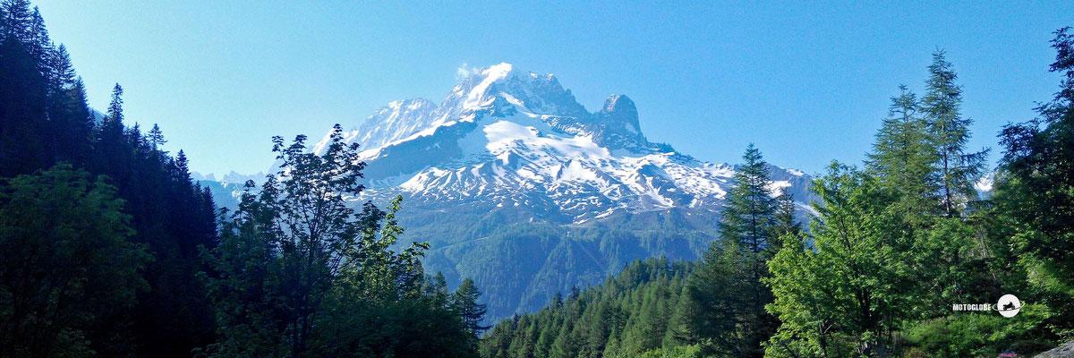 Der gewaltige Mont Blanc