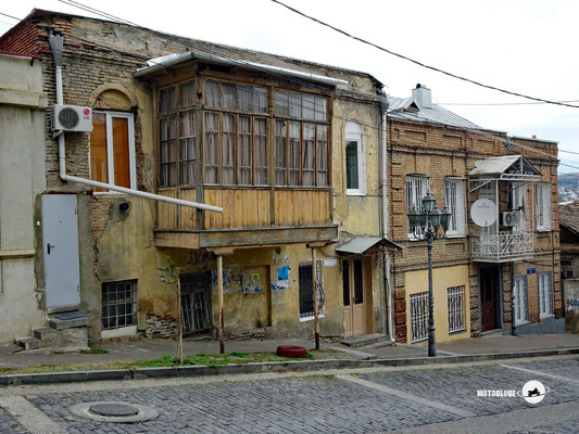 Unterwegs in einem der alten Stadteile