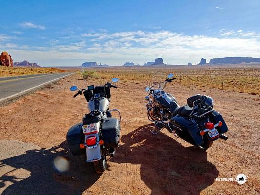 Unterwegs zum Monument Valley