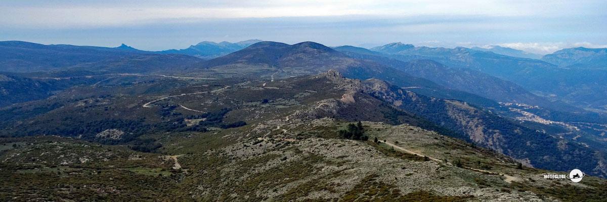 Das Panorama vom Monte Olinie