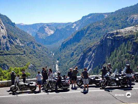 Das Yosemite Tal mit dem Merced River