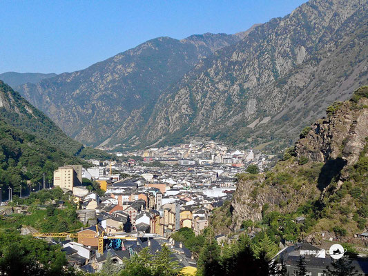 Rückblick auf Andorra la Vella