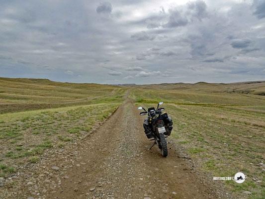 Es geht Richtung Süden zur aserbeidschanischen Grenz